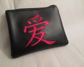 Naruto/Gara inspired coin purse/wallet