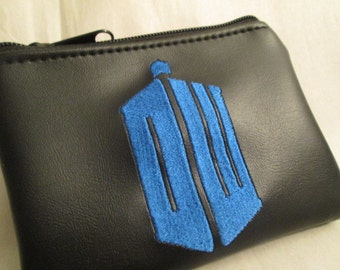 Doctor Who Inspired Coin purse/wallet