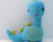 Amigurumi Dinosaur Crochet Pattern Digital Download