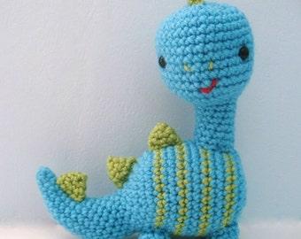 Amigurumi Crochet Dinosaur Pattern Digital Download