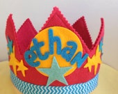 Superhero Star Crown