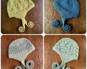 PDF Little Hat Collection Pattern ebook Knitting Knit handmade Digital Download Baby Toddler Childrens