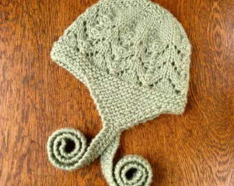 PDF Sparrow Hat Pattern DIGITAL Download Knit Knitting baby Child Toddler Children Handmade Wool
