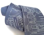 Detroit Map Necktie. Shop local, ships fromDetroit. Campus Martius & Woodward Silk tie. Made in Michigan.