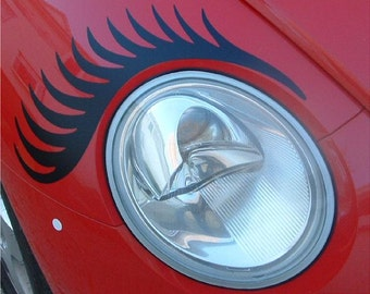 Eyelashes for your VW Beetle Headlamps or Zap Car