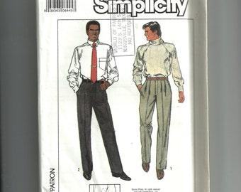 Simplicity Men's Pants Pattern 9029