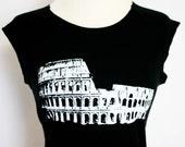 The Colosseum black raglan