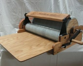 Fancy Kitty KITTEN XL wide 90/120 Fine Fiber Drum Carder with brush attachment (Free Domestic Shipping)