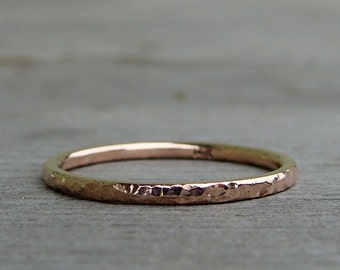 Wheat Ring Recycled 14k Yellow Gold Made To By