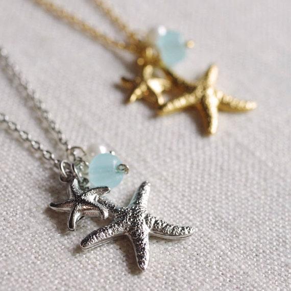motherhood . beach inspired starfish necklace