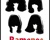 The Ramones Abstract Art. Punk Rock Art Rare Signed