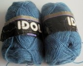 two skeins of Idol Handy Craft yarn destash