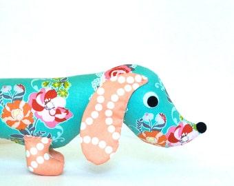 Children Stuffed Toy Plush Wiener Dog FLORA