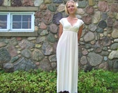 SALE 193 Bamboo Lotus Wedding Gown Size S