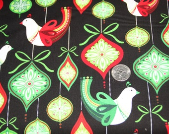 Robert Kaufman Fabrics - O'Tinsel Tree 2 - AMF-12146-223 Holiday - One Full Yard
