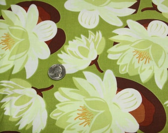 Ginger Blossom By Sandi Henderson Fabric