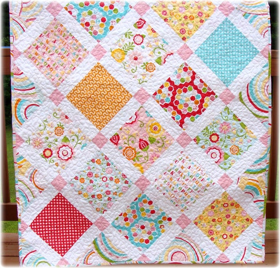 Baby Girl Quilt Simply Sweet