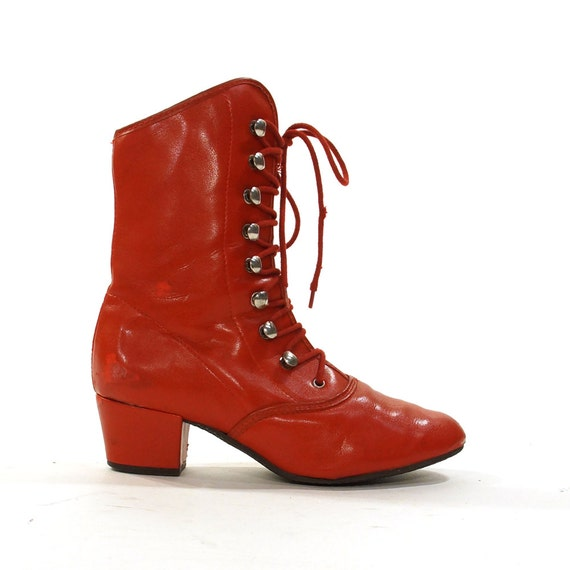 Find great deals on eBay for red lace up ankle boots. Shop with confidence.
