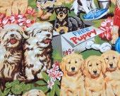 Alexander Henry Fabric Free Puppy 1 Yard