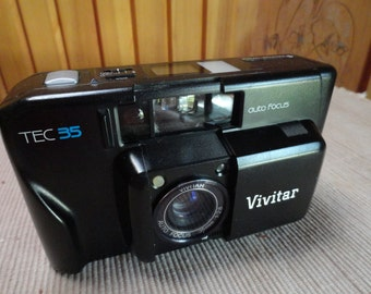 Vivitar Tec 35 Automatic Film Camera from the 1980s