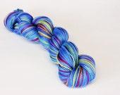 OOAK Wool Silk Blend Mystery Fingering Yarn