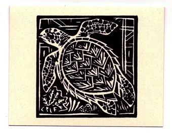 6 card set- Turtle- Hawaiian Honuea