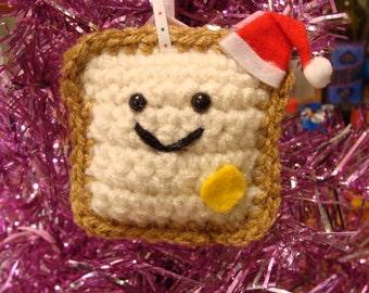 Santa Toastee Ornament