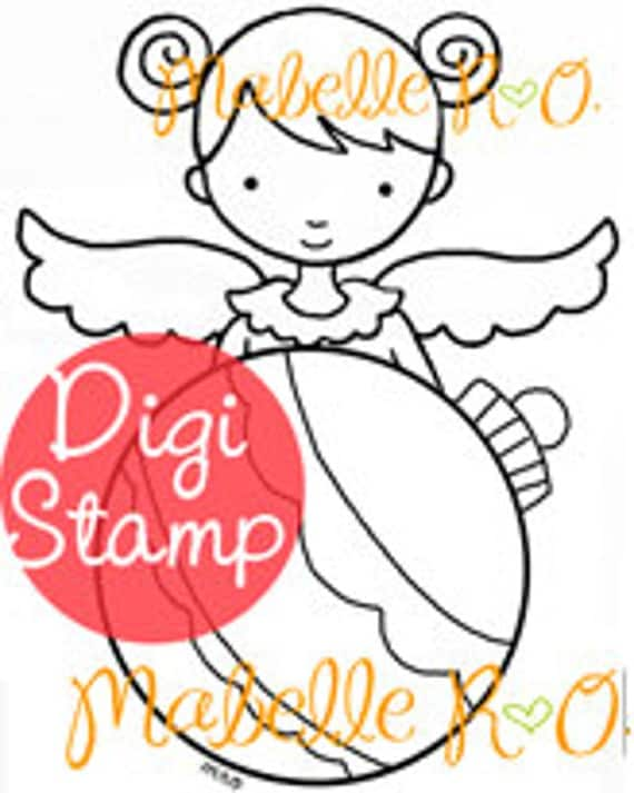 Instant Download: Ornament Angel