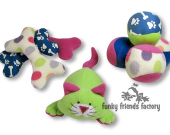 Dog Toy Pattern Pack PDF INSTANT DOWNLOAD