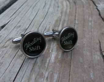 Typewriter Cuff Link, Gift Idea For Him, Vintage Wedding