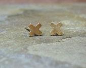 X marks the spot earrings
