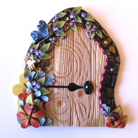 Garden fairy door pixie portal for Amazon uk fairy doors