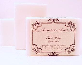 Tea Tree Glycerin Soap