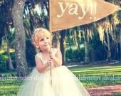 Flower Girl Dress as seen on Mariee Magazine's website