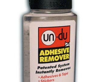 Un Du Adhesive Scrapbook Sticker Tape Label Remover 4 oz.