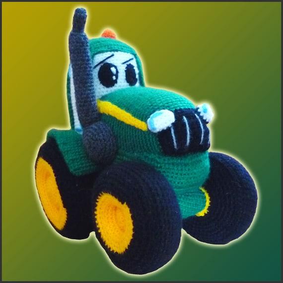 Amigurumi Pattern Crochet Johnny Tractor DIY von ...