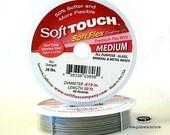 "30 feet Spool 0.19"" Medium Soft Touch by SoftFlex Beading Wire"