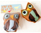 BIrdy Bird Catnip Owl for Kit Kats