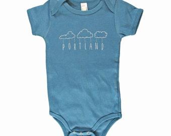 Portland Rain Onesie