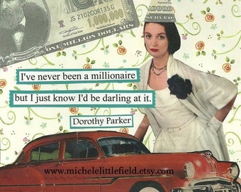 A Darling Millionaire A Funny Greeting Card