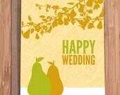 wedding card / perfect pair