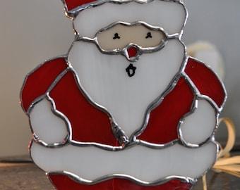 Santa suncatcher