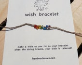 wish bracelets, set of 5