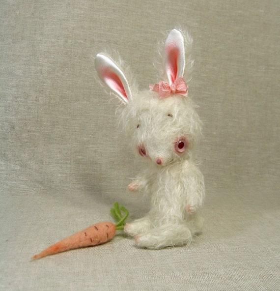 Daisy the Mohair Bunny