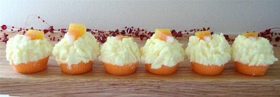 CANDY CORN Mini Muffin Tarts Halloween Tart Melts Black Mountain ...