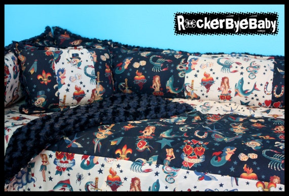 Punk Baby Crib Bedding