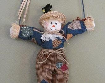 Adorable Hanging Scarecrow Decoration