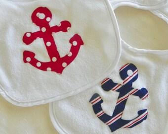 Anchor Bib-Stripes or Dots