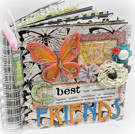 Beste Freunde A-Z Freundschaft Scrapbook Fotoalbum