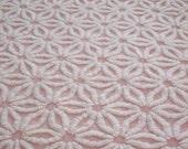 "Hoffman Pink Daisy Chenille bedspread 25""x20"" sewbuzyb sst"